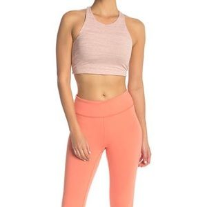 OUTDOOR VOICES TECH SWEAT BLUSH PINK TOP